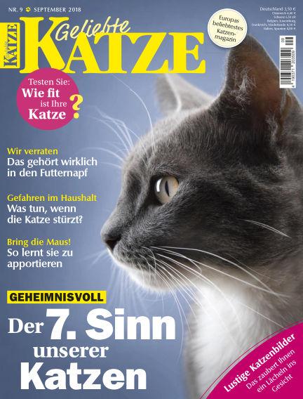 Geliebte Katze August 08, 2018 00:00