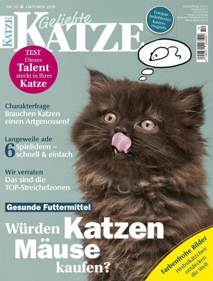 Geliebte Katze September 12, 2018 00:00