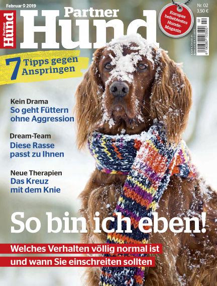 Partner Hund January 02, 2019 00:00
