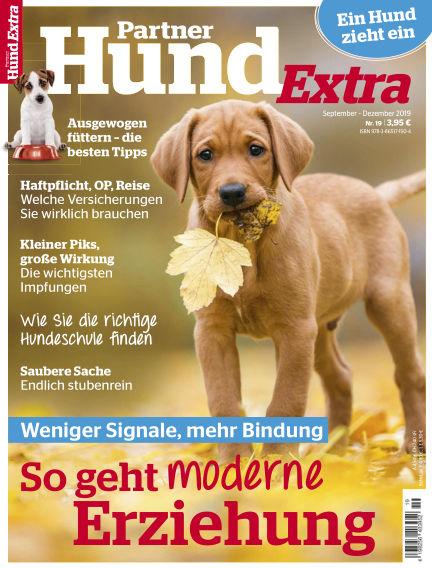 Partner Hund Extra September 04, 2019 00:00
