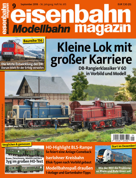 eisenbahn magazin August 16, 2018 00:00