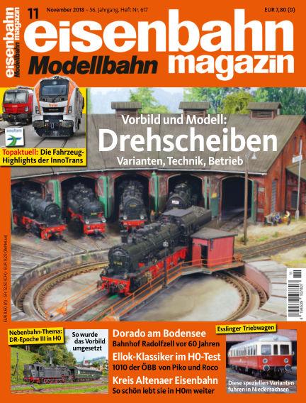eisenbahn magazin October 11, 2018 00:00
