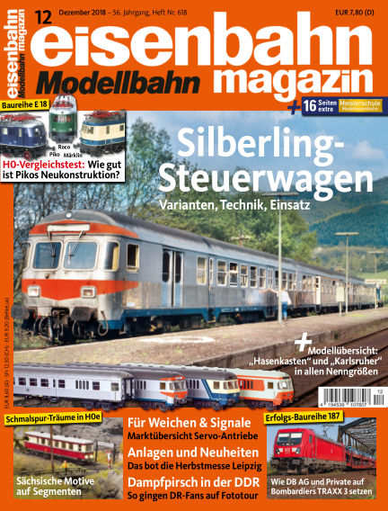 eisenbahn magazin November 08, 2018 00:00