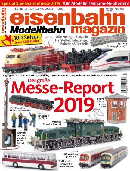 eisenbahn magazin February 08, 2019 00:00