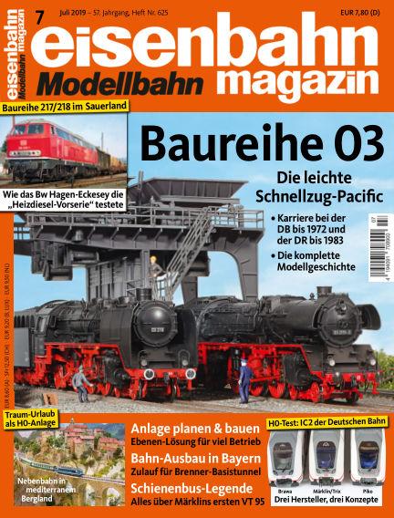 eisenbahn magazin June 13, 2019 00:00