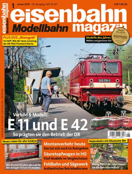 eisenbahn magazin December 12, 2019 00:00