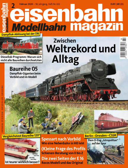 eisenbahn magazin January 16, 2020 00:00