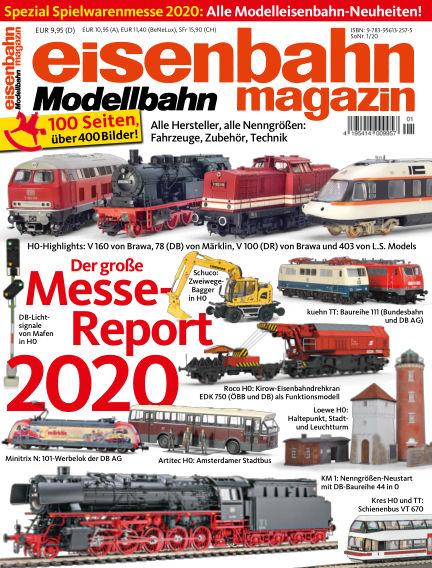 eisenbahn magazin February 07, 2020 00:00
