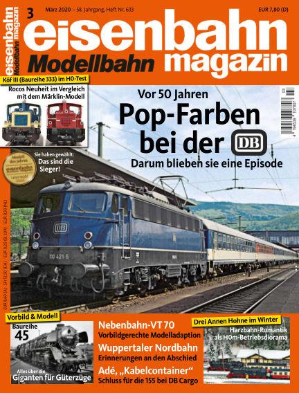 eisenbahn magazin February 13, 2020 00:00