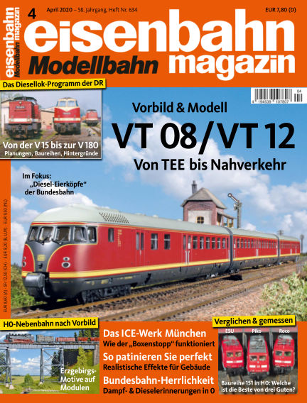 eisenbahn magazin March 12, 2020 00:00