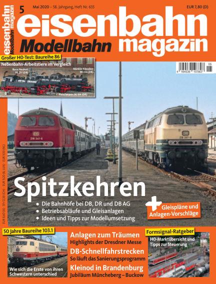 eisenbahn magazin April 16, 2020 00:00