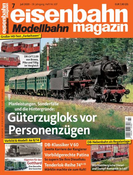 eisenbahn magazin June 12, 2020 00:00