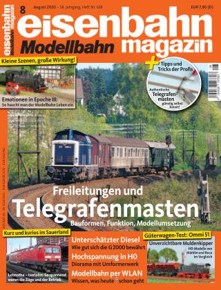 eisenbahn magazin 08_2020