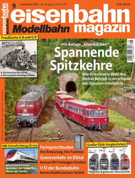 eisenbahn magazin August 06, 2020 00:00