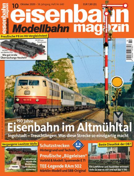 eisenbahn magazin September 10, 2020 00:00