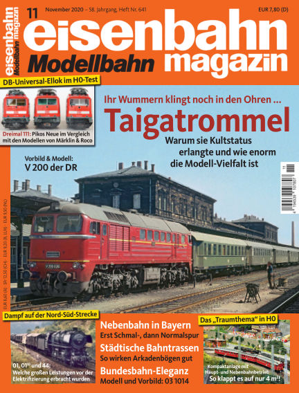 eisenbahn magazin October 08, 2020 00:00