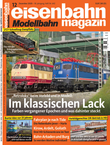 eisenbahn magazin November 12, 2020 00:00