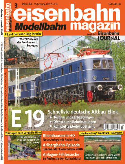 eisenbahn magazin February 10, 2021 00:00