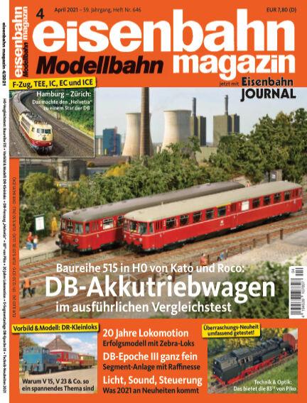 eisenbahn magazin March 10, 2021 00:00