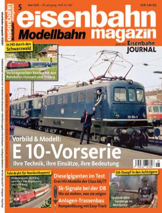 eisenbahn magazin 05_2021