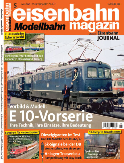 eisenbahn magazin April 14, 2021 00:00