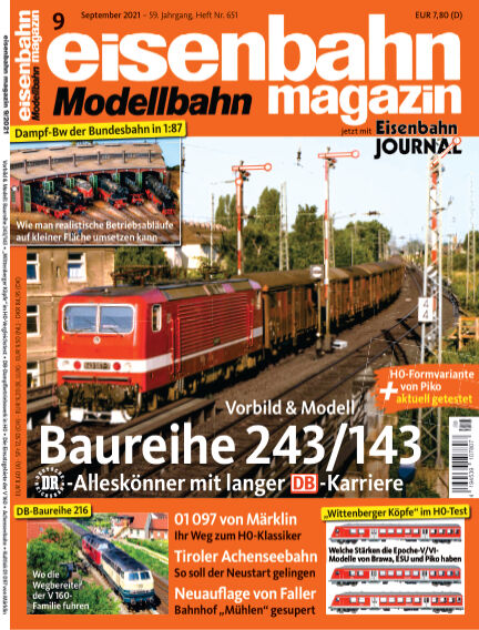 eisenbahn magazin August 11, 2021 00:00