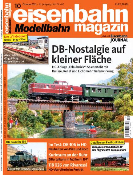 eisenbahn magazin September 08, 2021 00:00