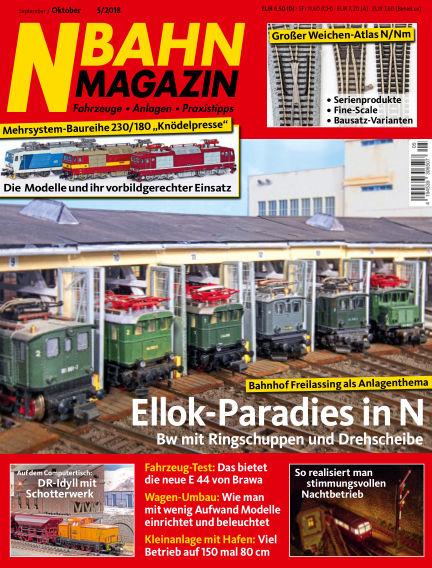 N‐Bahn Magazin August 23, 2018 00:00