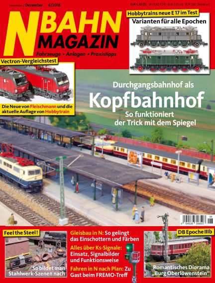 N‐Bahn Magazin October 18, 2018 00:00