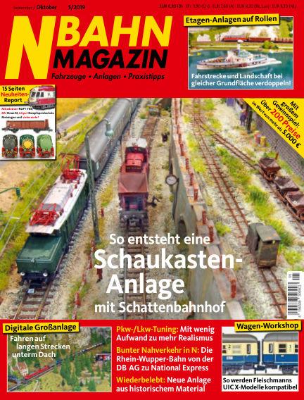 N‐Bahn Magazin August 29, 2019 00:00