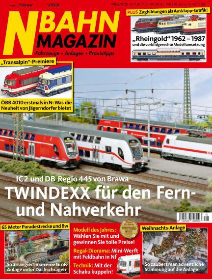 N‐Bahn Magazin December 19, 2019 00:00