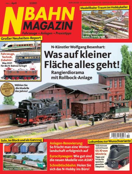 N‐Bahn Magazin February 25, 2021 00:00