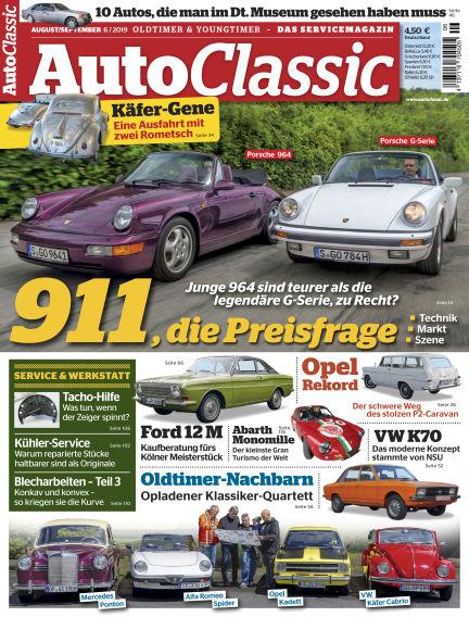 Auto Classic July 15, 2019 00:00