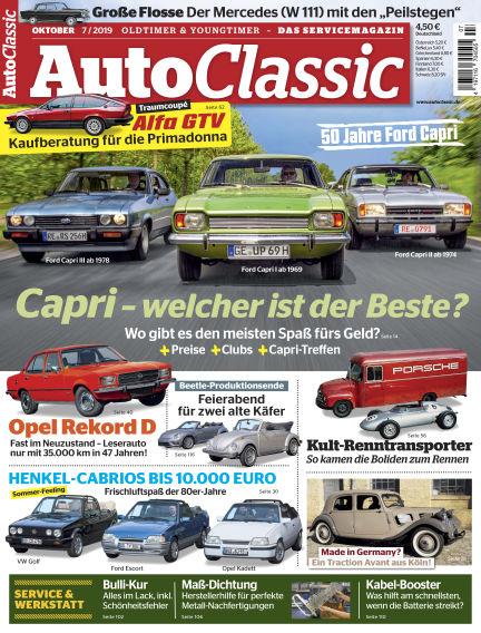 Auto Classic September 02, 2019 00:00