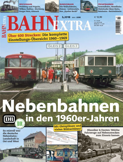 Bahn Extra April 12, 2018 00:00