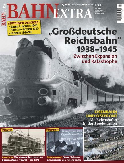 Bahn Extra October 11, 2018 00:00