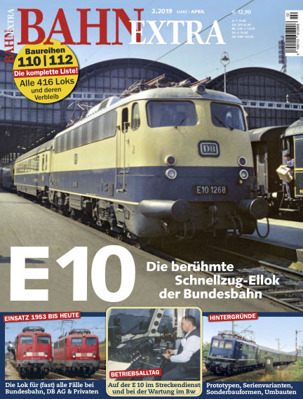 Bahn Extra February 14, 2019 00:00