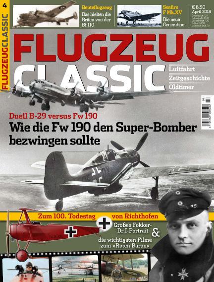 Flugzeug Classic March 19, 2018 00:00