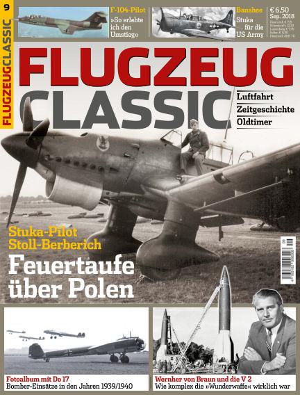 Flugzeug Classic August 13, 2018 00:00