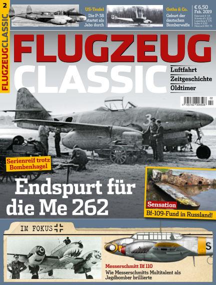 Flugzeug Classic January 14, 2019 00:00