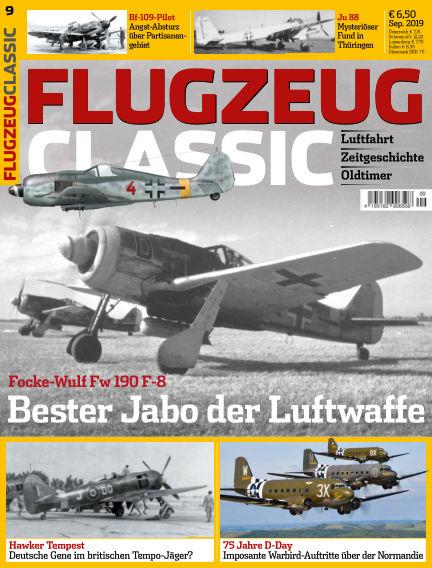 Flugzeug Classic August 12, 2019 00:00