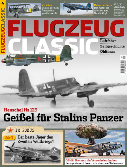 Flugzeug Classic March 09, 2020 00:00