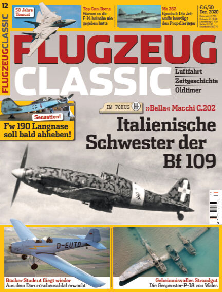 Flugzeug Classic November 09, 2020 00:00