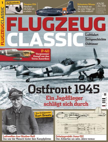 Flugzeug Classic December 07, 2020 00:00