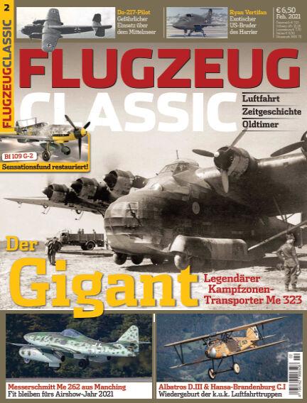 Flugzeug Classic January 11, 2021 00:00