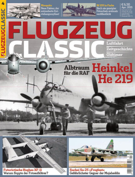 Flugzeug Classic March 08, 2021 00:00