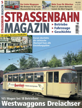 Straßenbahn Magazin 05_2018