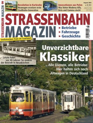 Straßenbahn Magazin 08_2018