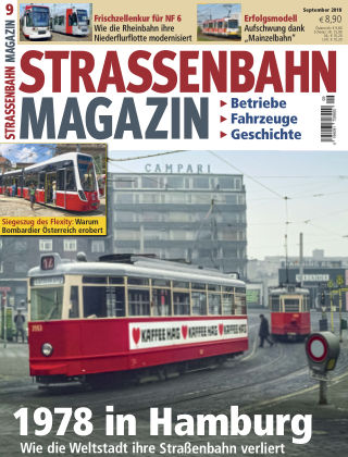 Straßenbahn Magazin 09_2018