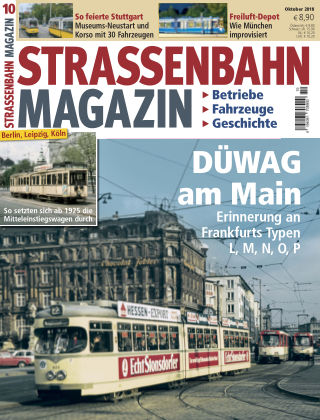 Straßenbahn Magazin 10_2018